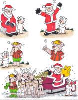 Helping...Santa by fredvegerano