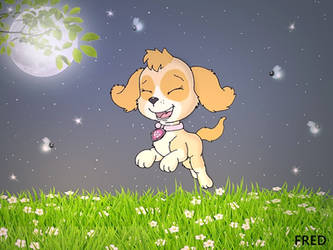 Moonlight dancing!(Paw Patrol) by fredvegerano