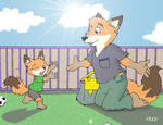 Zootopia:Daddy,you're here!