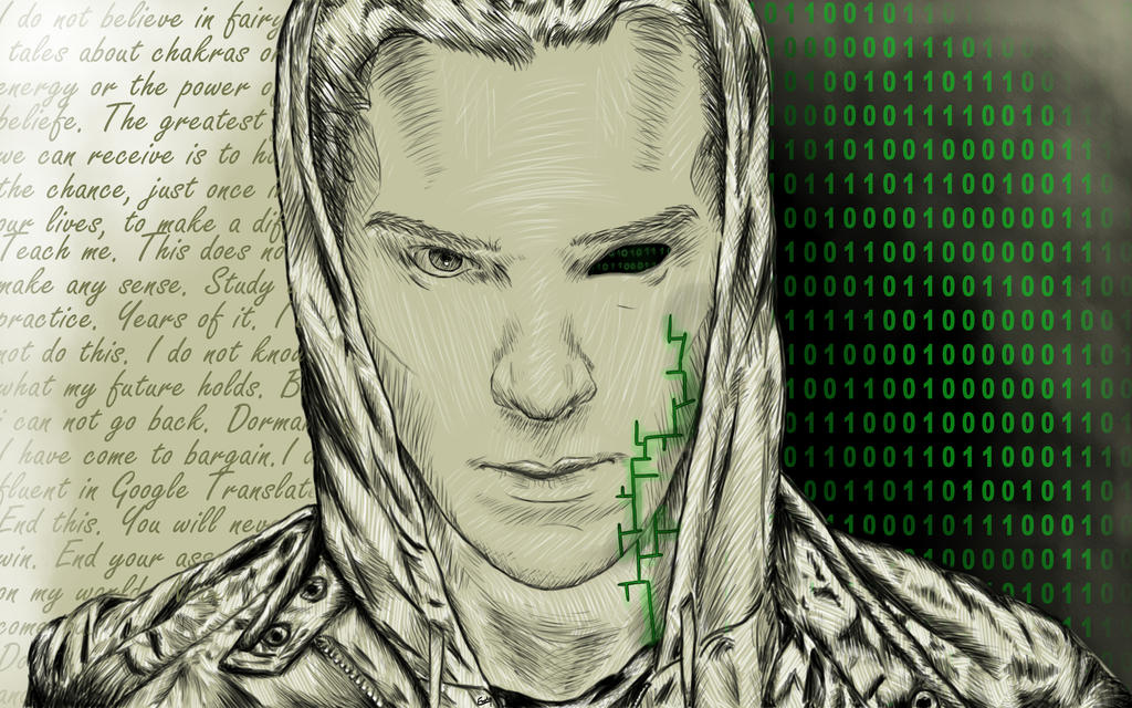 Benedict Cumberbatch by kefka334