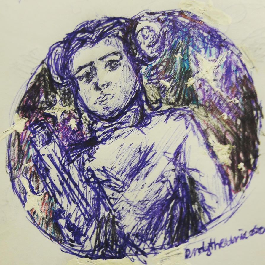 Princess Leia doodle by kefka334
