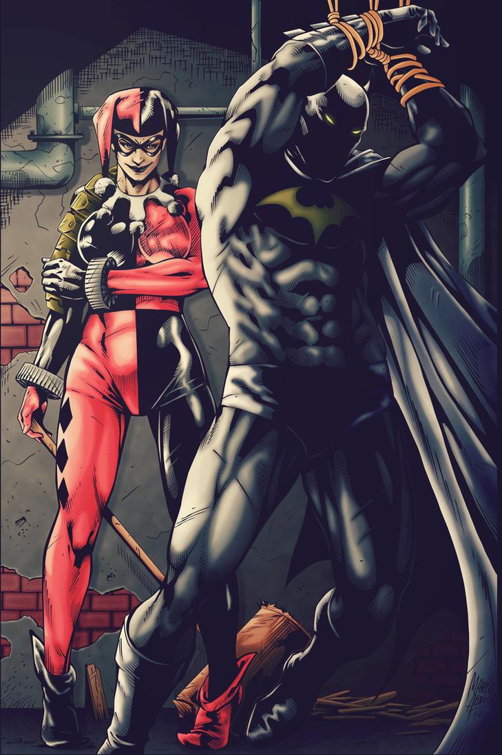 Harley quinn batman porn