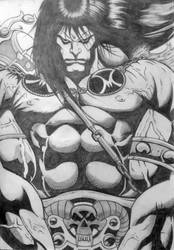 Conan the Barbarian by CB by CB-ComicArt