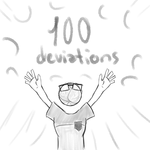 100 dA by ImSooMuchCoolerThanU