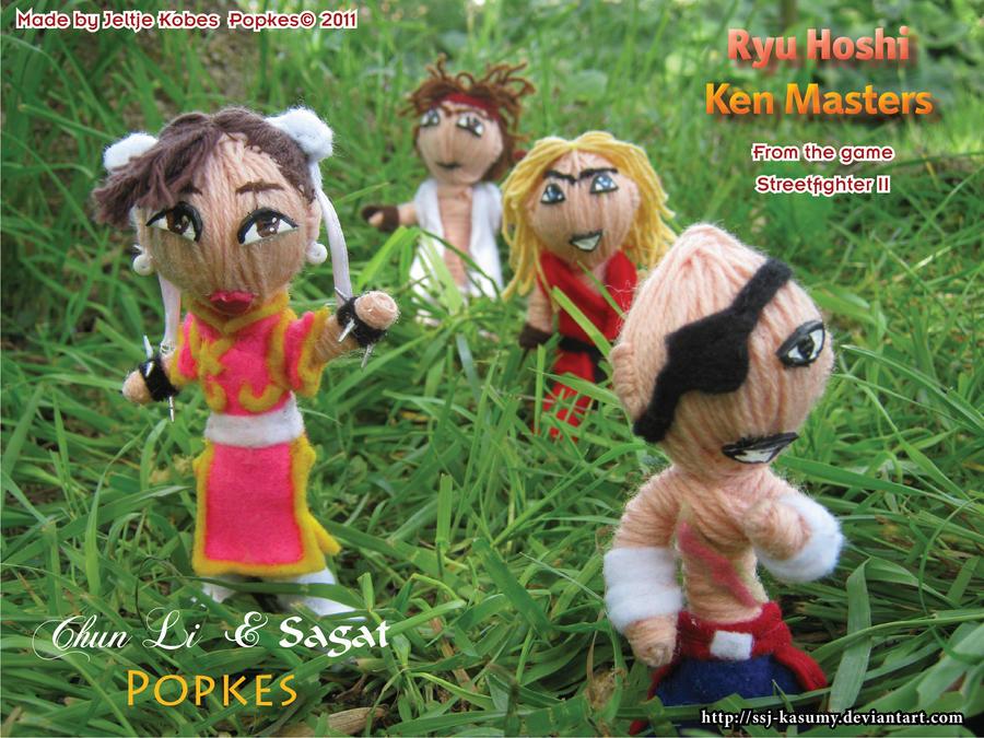 SF Popkes in Action II by LadyRafira