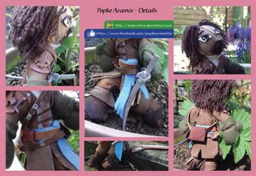 Aramis Popke Details - The Musketeers BBC by LadyRafira