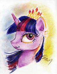Quick sketch: Just Twilight by Lailyren