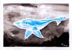 [INKTOBER 18'] 12. Whale