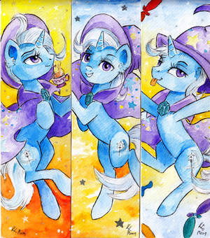 Bookmarks: The Great and Powerful Trixie