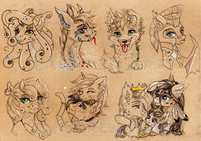 TheClyonies sketches (pack 2)