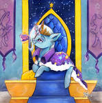 [COM] The Great and Powerful Queen Trixie Lulamoon by Lailyren