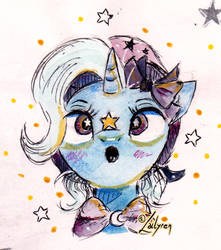 Twinkle twinkle Great and Powerful Star
