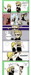 Wesker manipulate Jill by FiammahGrace