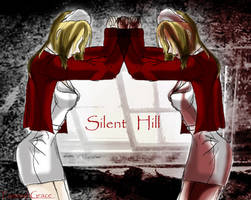 the mirror-Lisa____silent hill by FiammahGrace