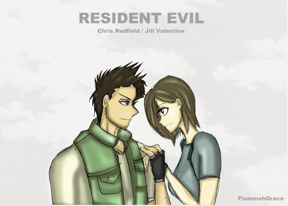jill valentine and chris redfield relationship help