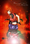 Claire Redfield moto resident evil