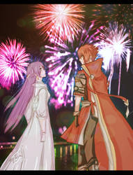 elsword happy new year by FiammahGrace