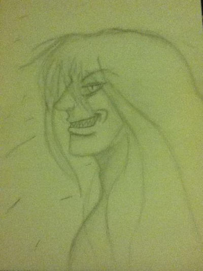 another half-assed sketch of sevey~ by TheFreakness101