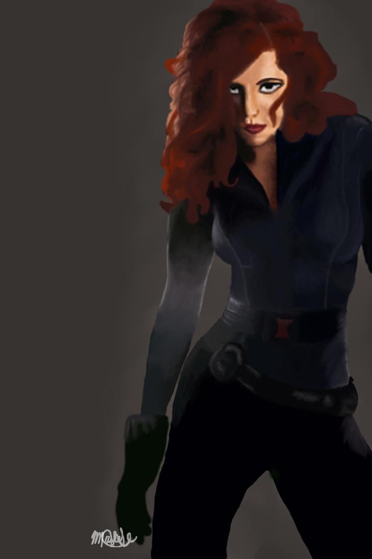 Scarlette Johansson by DeCobrey