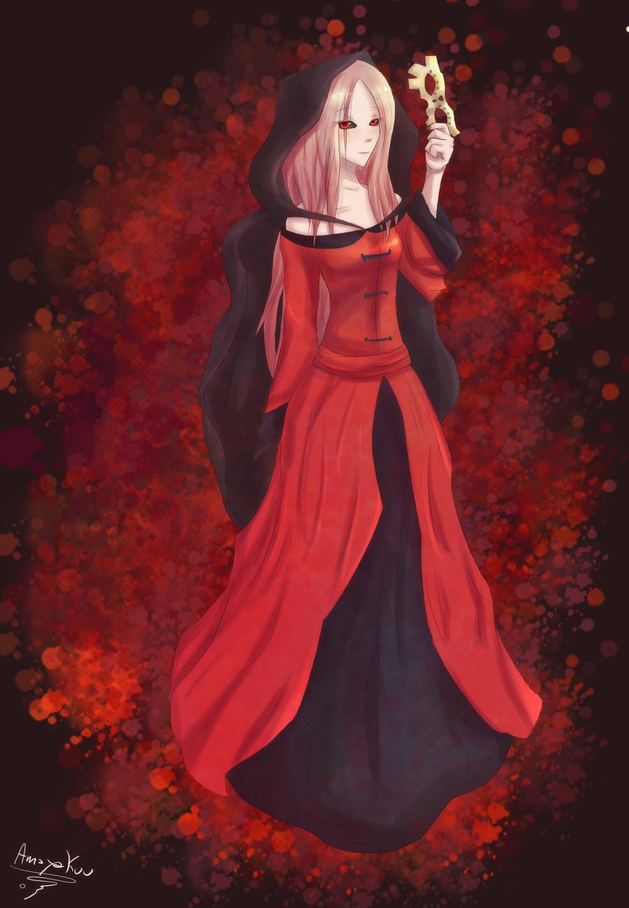 Rojo y negro by Amayakuu