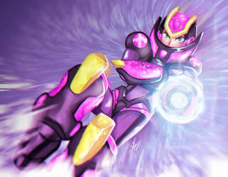 X Ultimate Armor - Megaman x8 by Strauss95