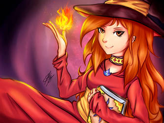 Fire Mage by Strauss95