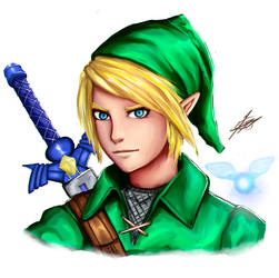 Sketch Practice 06 Link by Strauss95