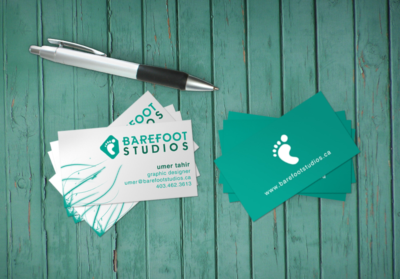 Barefoot's Business Cards