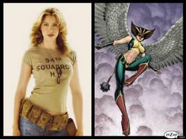JLA Castings - Hawkgirl