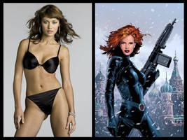 Marvel Casting - Black Widow (Natalia Romanova) by Doc0316