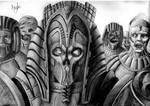 Mummified pharoh necromancer