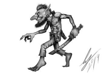 Goblin Rogue (Horde) - Matt Dixon reference