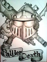 War mark influenced from warhammer tattoo design