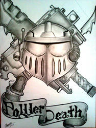 War mark influenced from warhammer tattoo design by KorD12