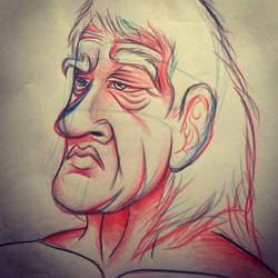 Old dude by KorD12