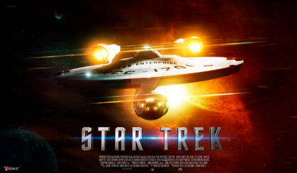 Star Trek Enterprise by HildaCarmonaT