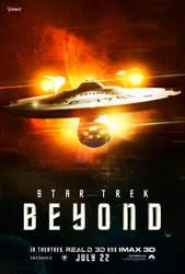 Star Trek Beyond Poster by HildaCarmonaT