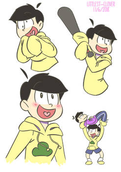 A page filled with Jyushimatsu (and an Ichimatsu)