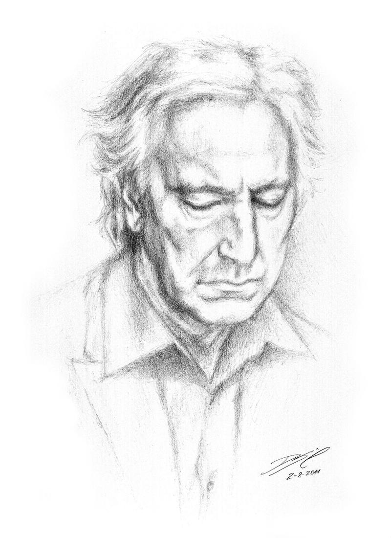 Mr Rickman by Simokaos