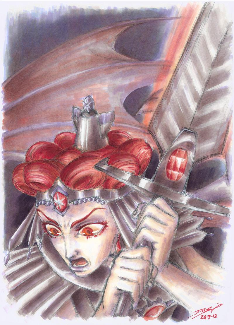 Chaos Warrior by Simokaos