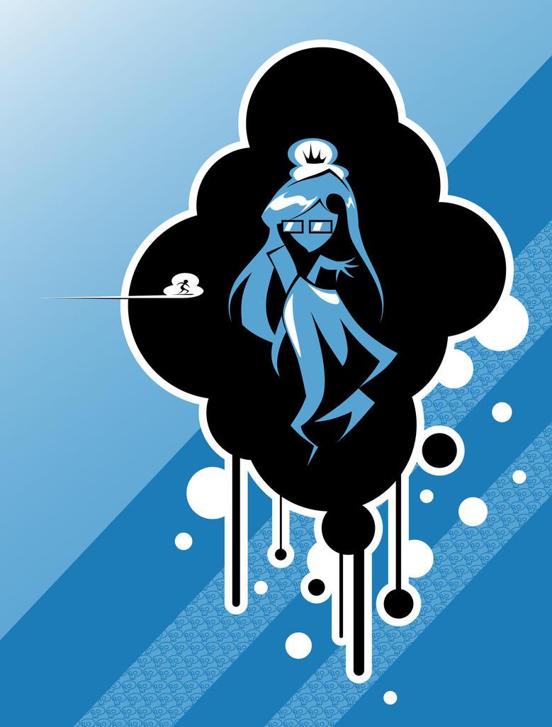 Empress in a cloud-color by Simokaos