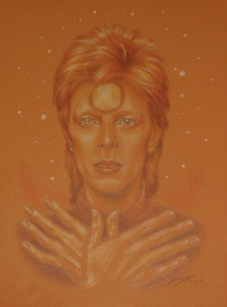 Mr Bowie - Ziggy by Simokaos