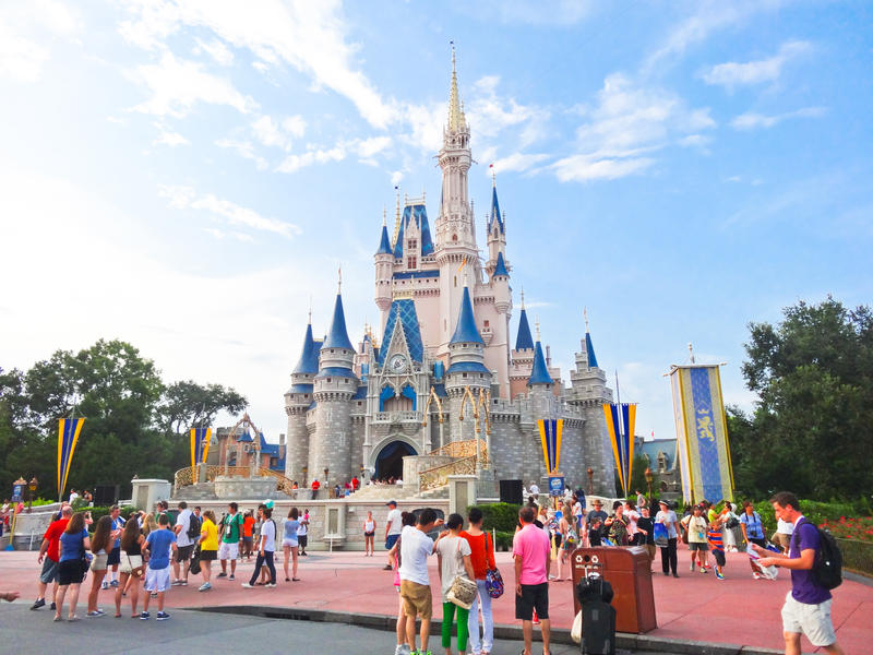 Cinderella's Castle by HA91