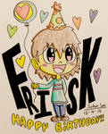 Birthday Month #5: FRISK