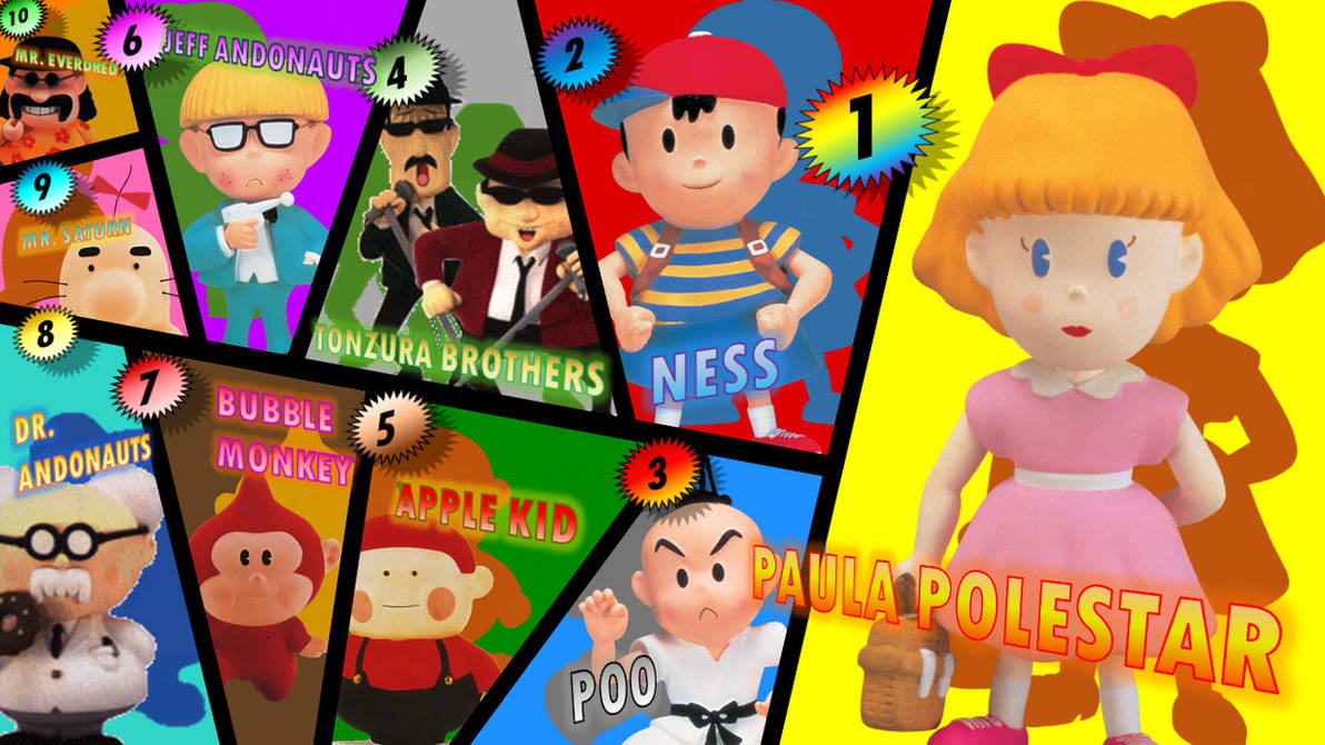 My Top 10 Favorite EarthBound Characters by Josh-S26 on DeviantArt