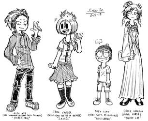 .:Pure White Eyes:. Some More Minor Characters by Josh-S26
