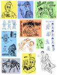 Mirio Doodles (SPOILERS YO!)