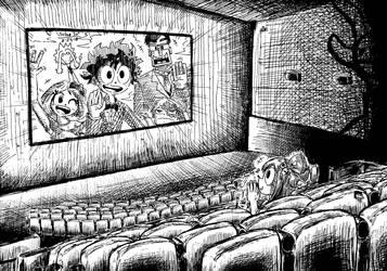 The Dekusquad at the movies by Josh-S26
