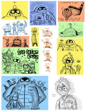 Fatgum Doodles (SPOILERS YO!)