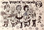 Inktober Day 28: My Paper Academia
